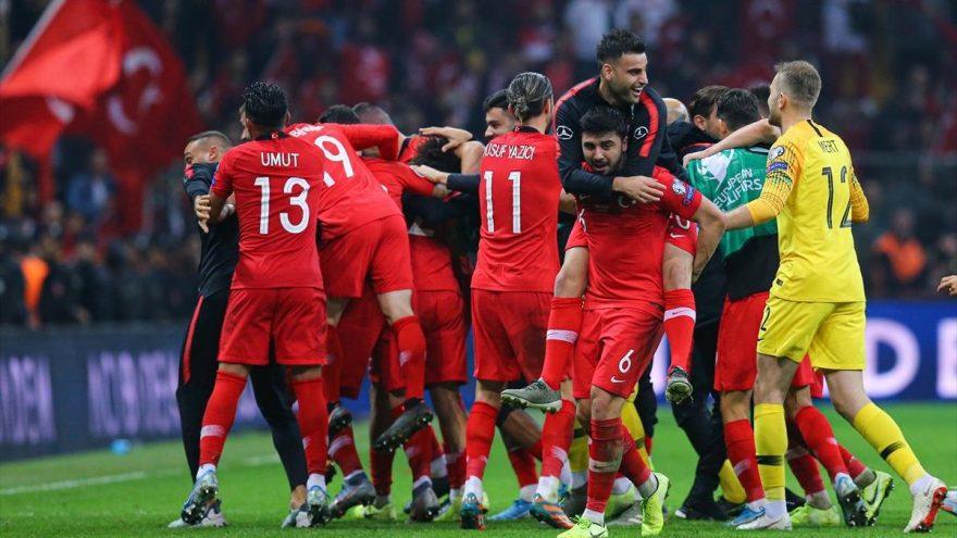 Türkiye Euro 2020 finallerine katılmayı garantiledi!
